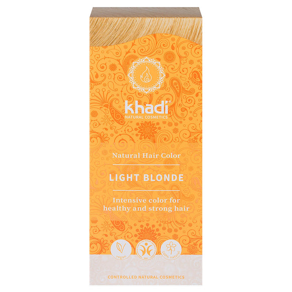 Khadi LIGHT BLONDE Hair Colour Herbal dye