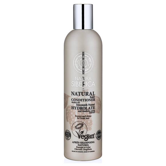 Natura Siberica HYDROLATE ENERGY and SHINE CONDITIONER