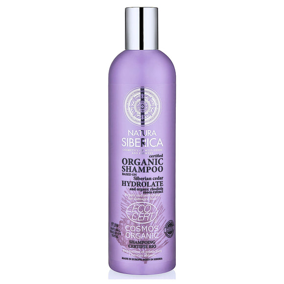 Natura Siberica REPAIR and PROTECTION HYDROLATE SHAMPOO