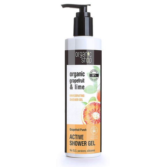 Organic Shop Grapefruit Punch and Lime SHOWER GEL