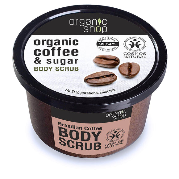 Organic Shop BRAZILIAN COFFEE & SUGAR body scrub