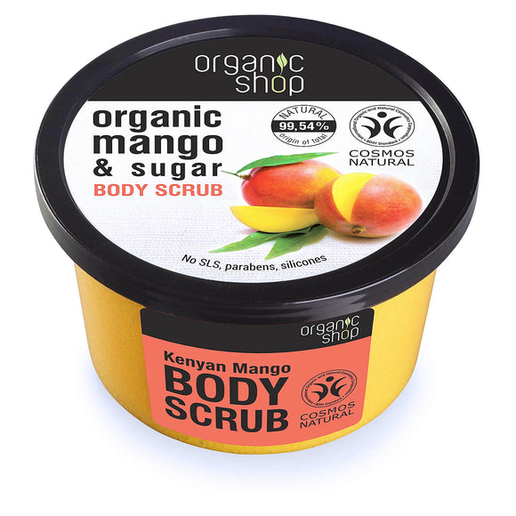 Organic Shop KENYAN MANGO & SUGAR body scrub