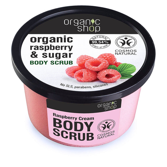 Organic Shop RASPBERRY & SUGAR body scrub