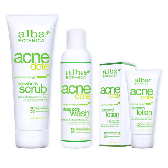 Special-offer-Face-body-scrub-pore-wash-oil-lotion-Alba-Botanica-official-UK-stockist-beautybypost