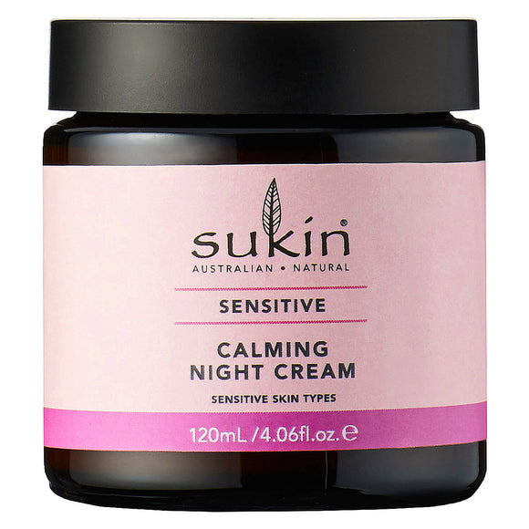 Sukin-Sensitive-Calming Night-Cream for sensitive skin types 120ml