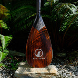 The 2 Piece Carbon Paddle - Brazilian Rosewood