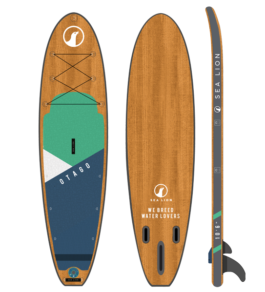 "10'6"" Otago - The All-In-One Board"