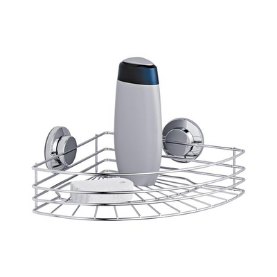 Tatkraft Shower Corner Rack - Vacuum Suction Cup