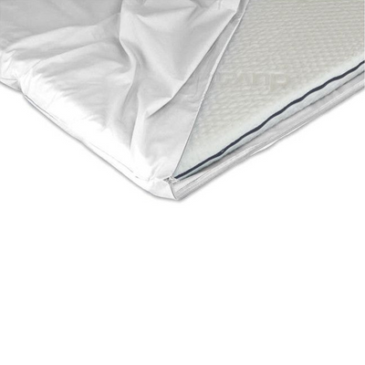 Duvalay Mattress Topper Zipped Sheet (white) - RV Living NZ