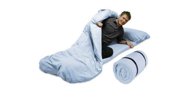 Duvalay Memory Foam Sleeping Bag - 5cm x 66cm wide OUT OF STOCK - RV Living NZ