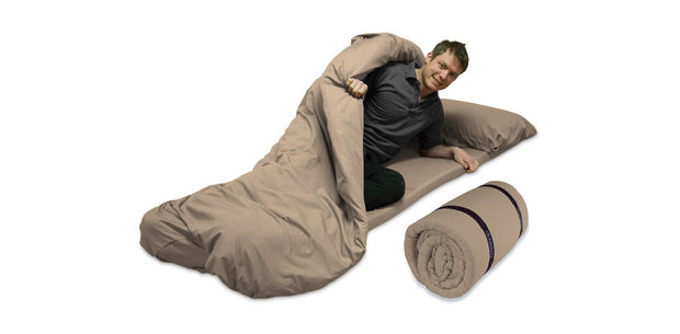77cm wide Duvalay Memory Foam Sleeping Bag
