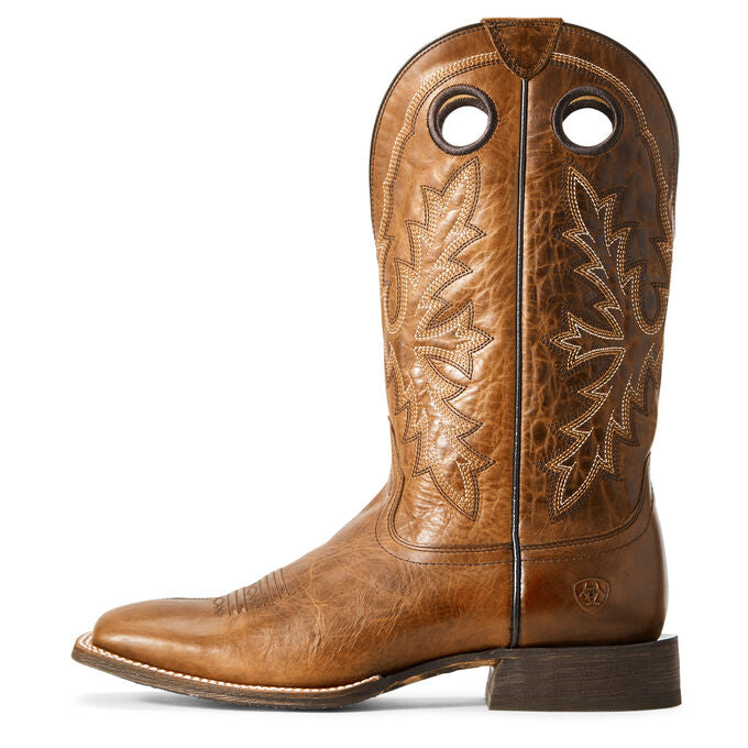 MEN'S ARIAT CIRCUIT CHAMP NOMAD BROWN WESTERN BOOTS - El Toro Boots
