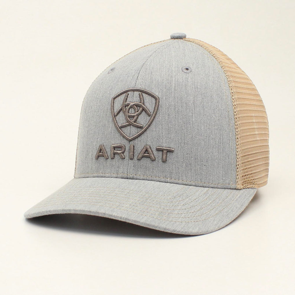 Ariat Grey 112 Snapback