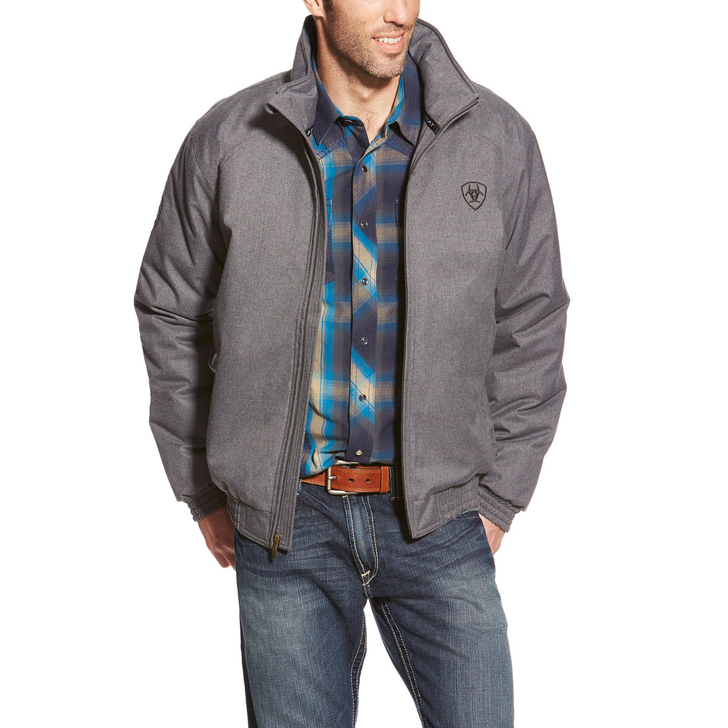 ARIAT TEAM JACKET - CHARCOAL HEATHER