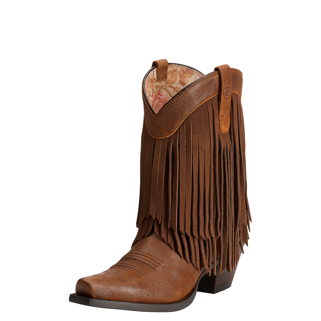 WOMEN'S ARIAT GOLD RUSH TERRA BROWN BOOTS - El Toro Boots