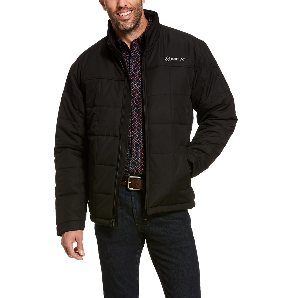 ARIAT CRIUS INSULATED JACKET - BLACK