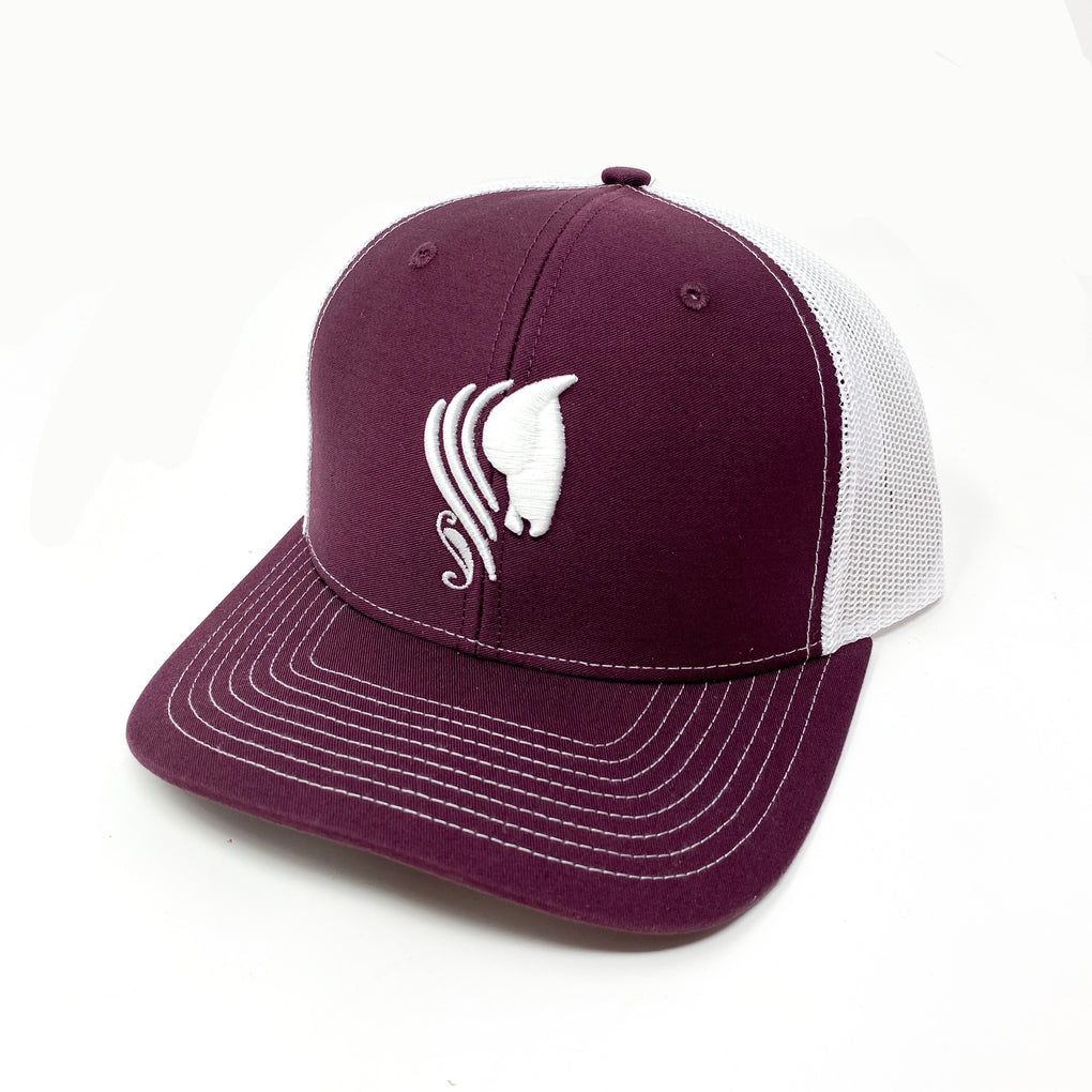 PENCO - MAROON/WHITE