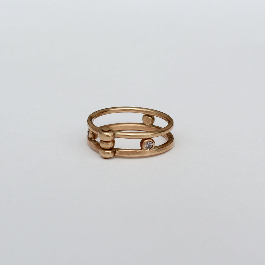 Double Hinge Ring