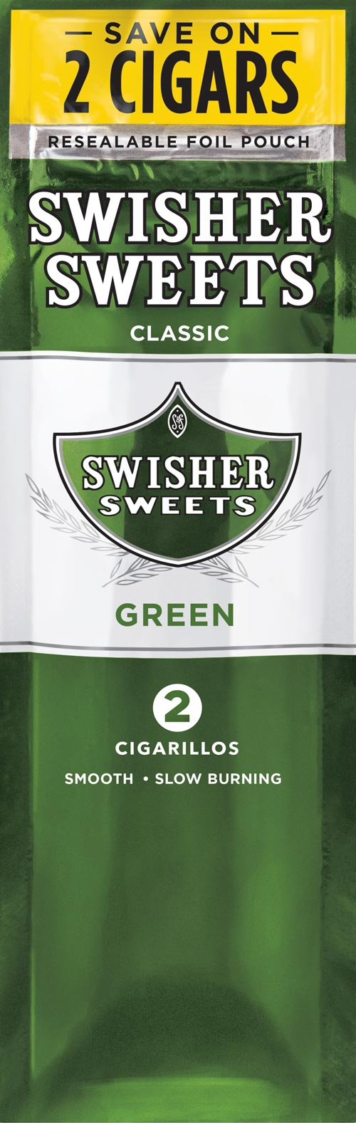 Swisher Sweets Cigarillos - Green Sweets