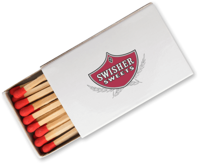 Box of Swisher Sweets Matches
