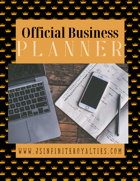 Official Business Planner