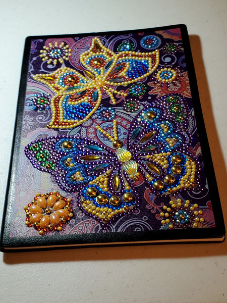 Diamond Beaded Notebooks