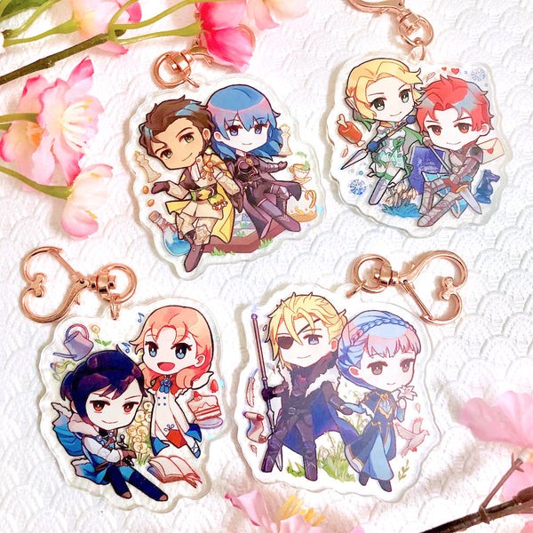 Three Houses Duo Charms