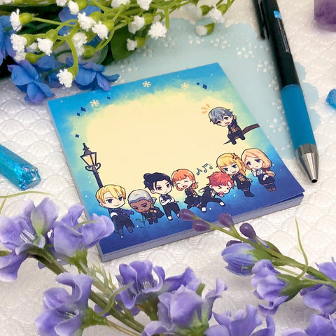 Three Houses Notepads
