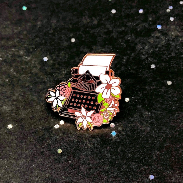 Evergarden Typewriter Pin