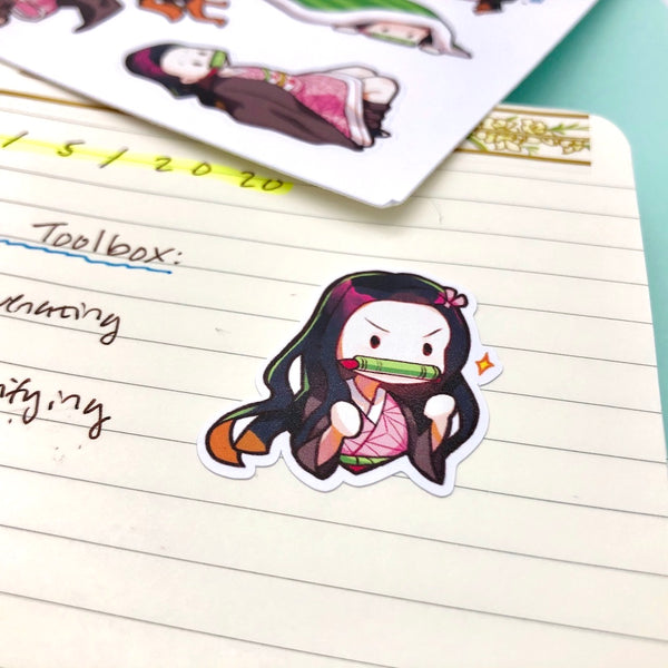 Nezuko Sticker Sheet