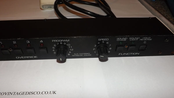 NJD 4000e 4 channel Disco light Controller