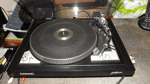 Citronic Performer CS 300D Turntable Record player Ortofon Concorde Cartridge
