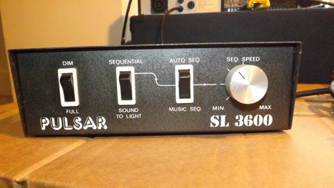 PULSAR SL3600 3 channel Disco light Controller sound to Light