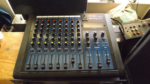 IMG Stageline MMX-822 Audio Mixing Console 8 Channel mixer