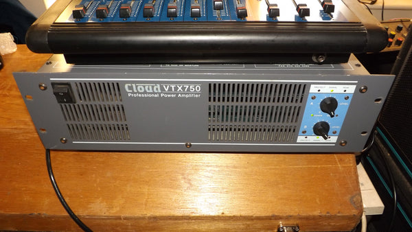 Cloud VTX750 Stereo  Mosfet Power Amplifier Retro Vintage Disco