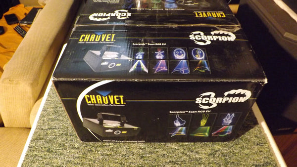 Chauvet Scorpion GBC EU 3 colour Laser light