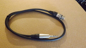 Patch / interconnect leads RCA Phono Jack XLR