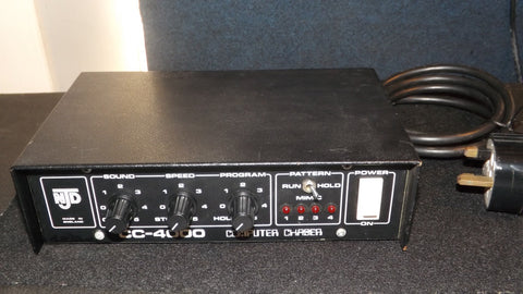 NJD CC-4000 Disco light 4 channel sound chaser