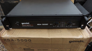 Gemini XGA-5000 Amplifier