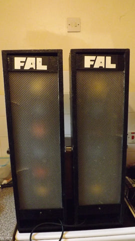 FAL Vintage 1970's Retro Disco Lights