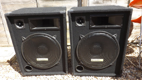 Echo Sound BBX 15 Disco speakers