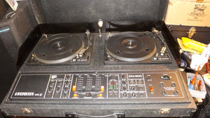 NJD Lancaster Mk2 Stereo powered Twin disco decks