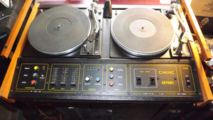 Citronic Severn Retro disco decks