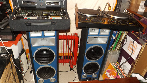 Complete Retro Citronic disco setup vinyl & CD