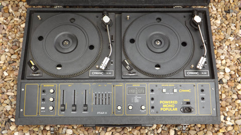 CITRONIC MONO POPULAR POWERED TWIN DISCO DECKS