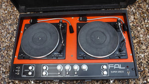FAL Super Disco decks  https://www.retrovintagedisco.co.uk/products/fal-super-disco-decks