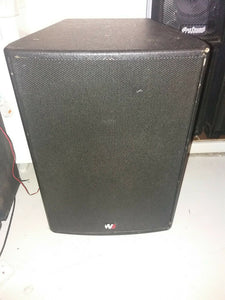 "Wharfdale Pro Sl-15 two way Speaker 15"" bass speaker"