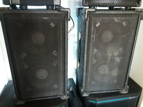 Custom Sound PA Disco speakers