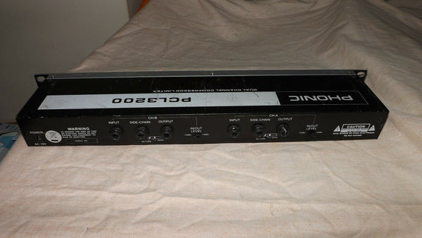 Phonic PCL3200 Compressor Limiter