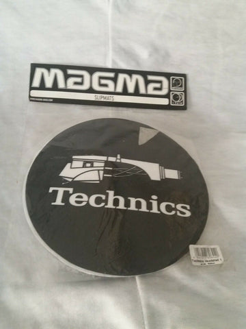 Pair of Technics Turntable slipmats